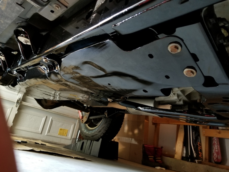 Rust Prevention Under Jeep Oil Undercoat Or Rubberized